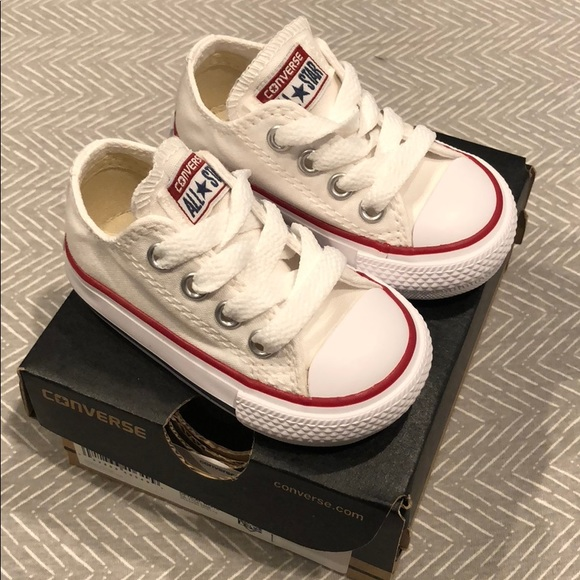 9fbdc4ad7877 Baby Converse. Infant Size 3.